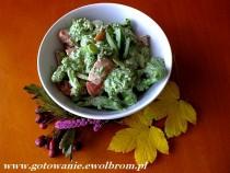 Sałatka z brokuła do drugiego dania
