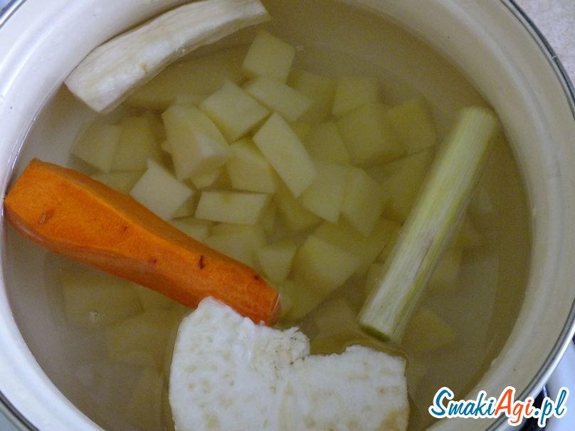 gotujemy wywar z warzyw