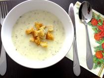 Czosnkowa zupa krem z tymiankiem