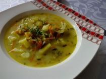 Wyśmienita zupa ogórkowa