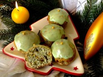 Makowe muffinki z pomarańczową nutą