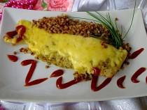 Miruna pod pierzynką z sera