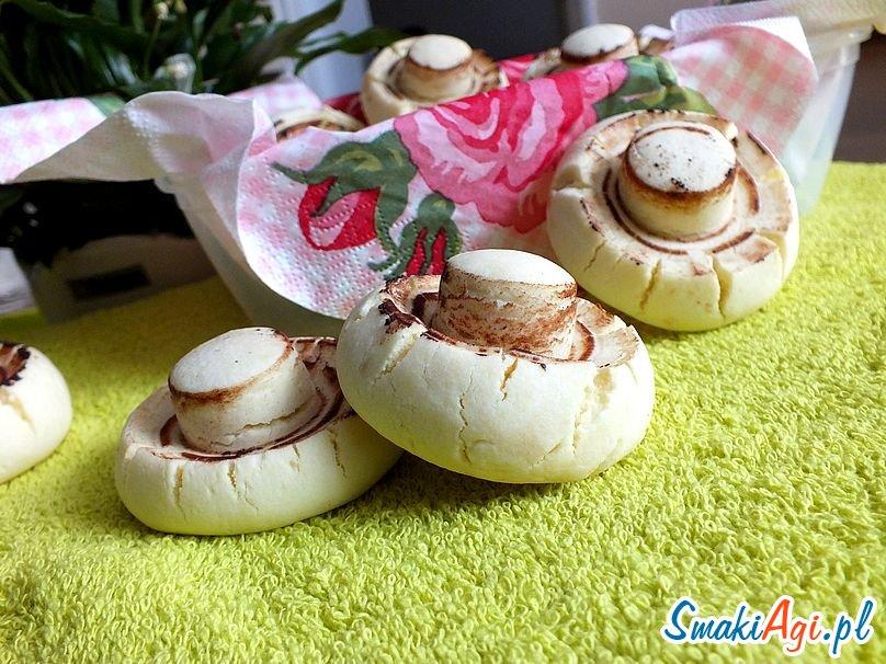 słodkie pieczarki z piekarnika