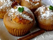 Szarlotkowe muffinki