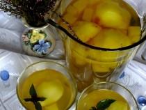 Jesienny kompot jabłkowo – dyniowy słodzony stewią