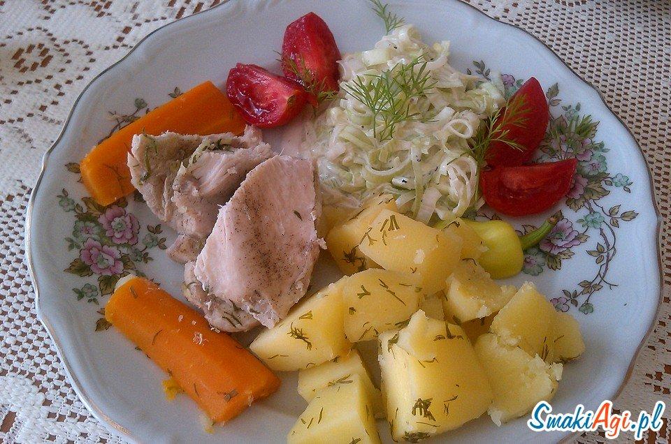 przepisy na dania gotowane, przygotowywane na parze