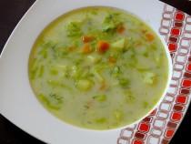 Lekka zupa z pora