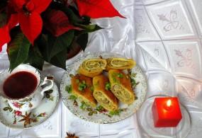 Świąteczne krokiety z pieczarkami