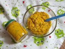 Kurczak z ryżem i marchewką