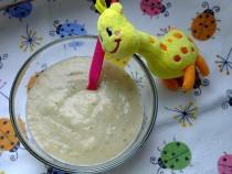 Zupa cukiniowa z królikiem i koperkiem