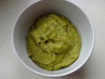 Krem brokułowy z dodatkiem gęsiny dla niemowlaka