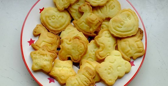 Maślane ciasteczka dla dzieci